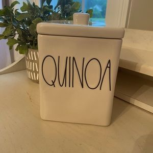 NEW RAE DUNN SQUARE QUINOA CANISTER